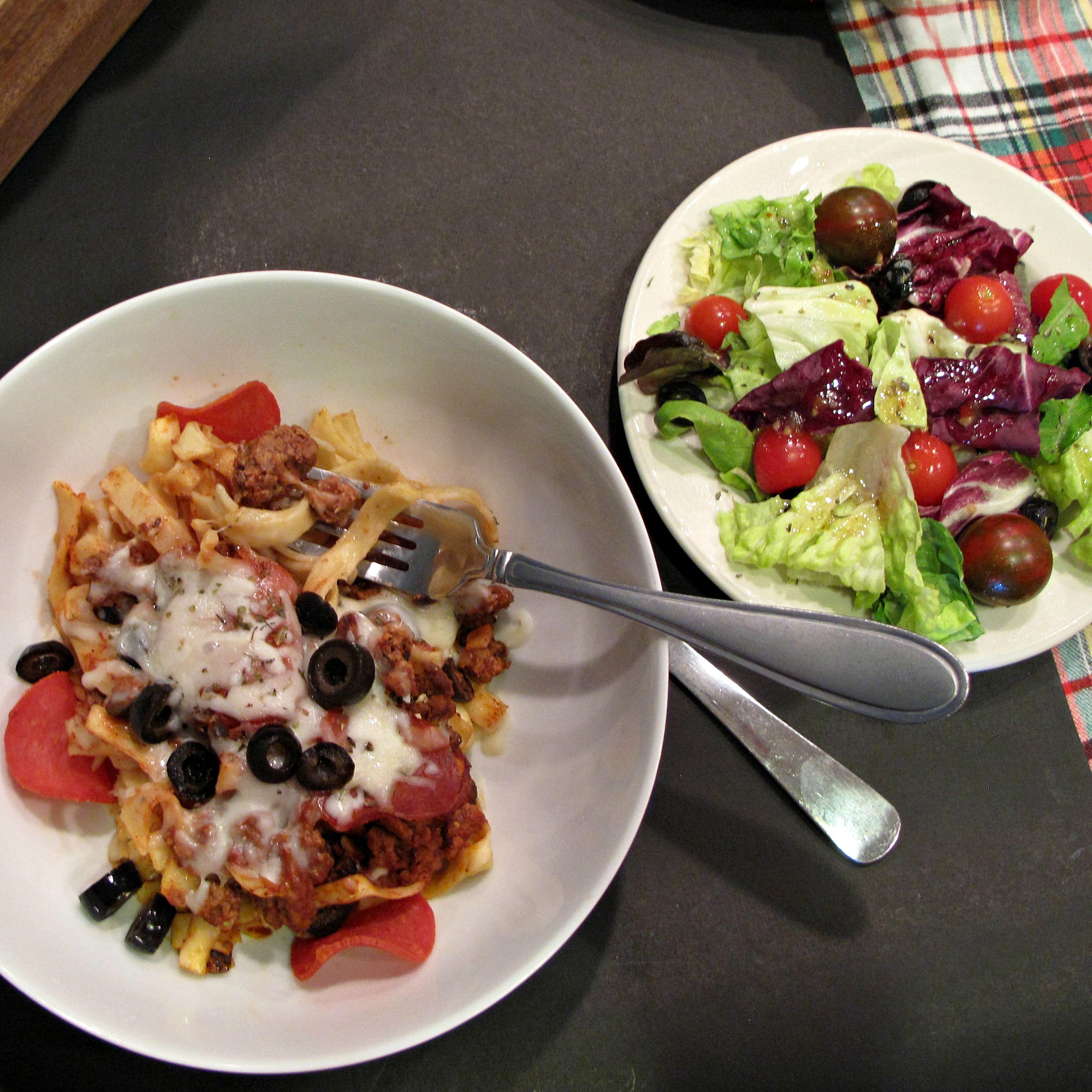 Country Pasta Pizza Bake