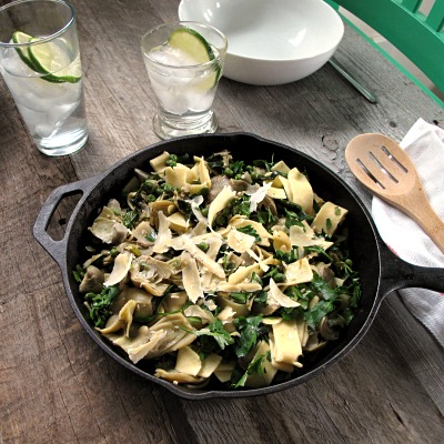 Touches-Of-Green Country Pasta