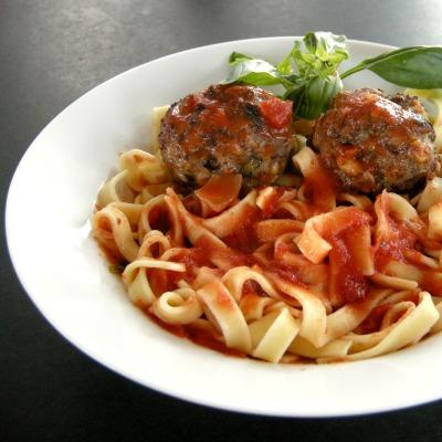 Parmesan Italian Meatballs and Sauce