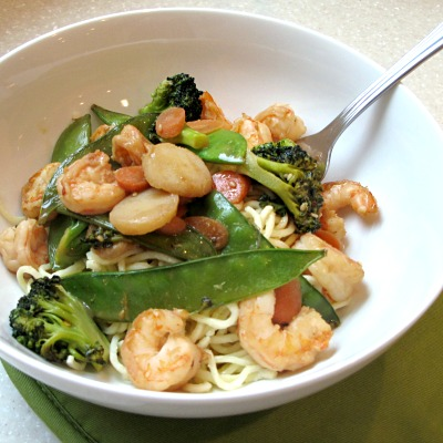 Country Pasta Veggie Stir Fry