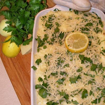 Creamy Lemon Casserole