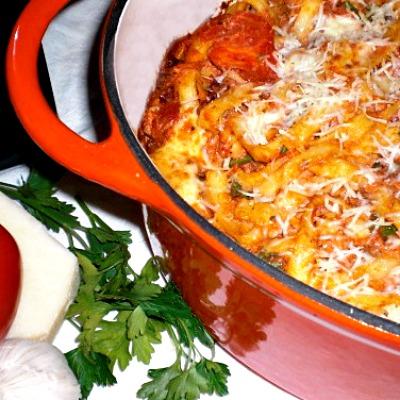 Italian Tomato Bake