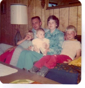 The Knutson Family...back in 1975.