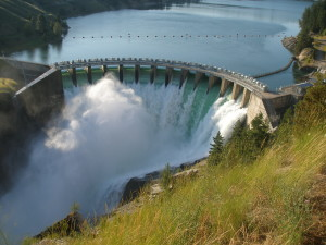 Flathead Lake's Kerr Dam