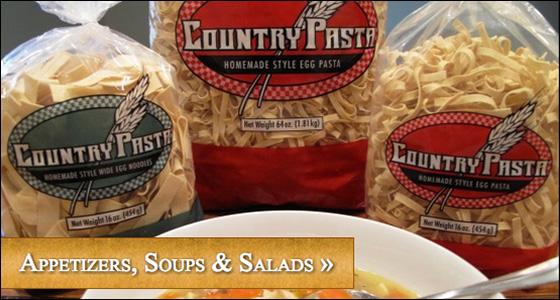 Appetizers, Soups & Salads
