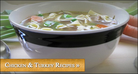 Chicken & Turkey Recipes