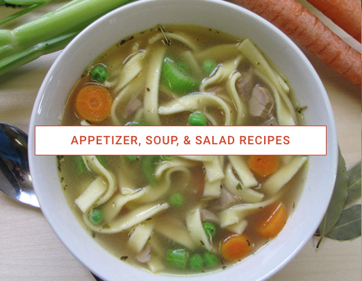 Appetizers, Soups, & Salads