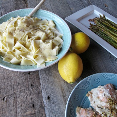 Easy Creamy Lemon Pasta
