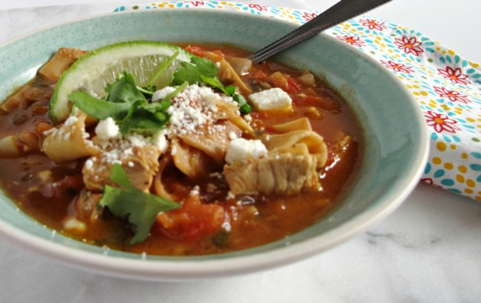 Fiesta Soup with Country Pasta