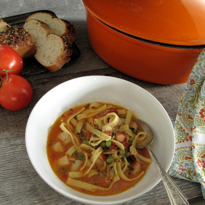 One Pot Seafood & Pasta Stew_Country Pasta