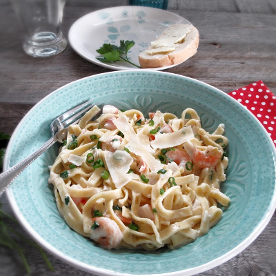 Easy Seafood and Country Pasta