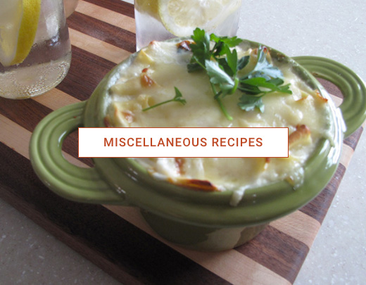 Miscellaneous Recipes
